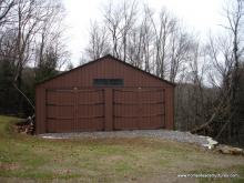 24' x 24' Keystone Garage (D-temp Siding)