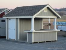10' x 12' A-Frame Siesta Poolside Bar (D-temp siding)