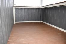 Bar counter interior - no cabinets or shelves