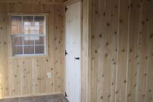 Cedar Paneling Interior