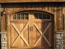 Wood or Cyprus Garage Door