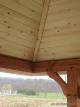 Timber frame Siesta details
