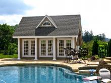 17' x 20' Heritage Pool House (vinyl siding)