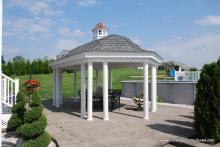 12' x 20' Homestead Belvedere Pavilion (no floor)
