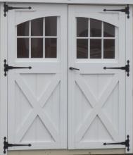 Double D-Temp Carriage Door
