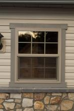 "30"" x 36"" Tan Vinyl Insulated Window"