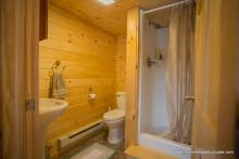 Heritage Pool House Bathroom with Shower