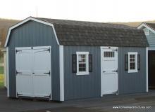10' x 18' Laurel Dutch Barn Shed (D-Temp Siding)