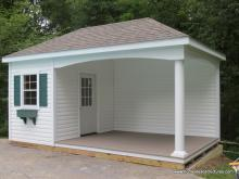 10' x 18' Avalon Pool House (vinyl siding)