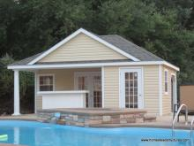 16' x 22' Wellington Pool House (vinyl siding)