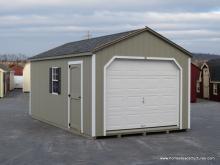 12' x 20' Keystone A Frame Garage (D-Temp Siding)