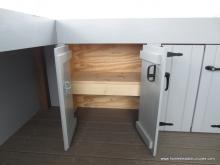 Siesta Poolside Bar Cabinet Doors