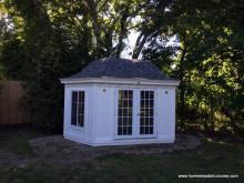10' x 16' Garden Belle (Hexagonal Shed) with door & window upgrades