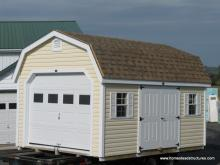 12' x 16' Laurel Dutch Barn Shed (vinyl siding)
