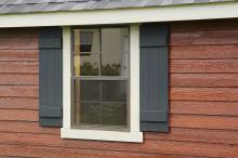 Stained LP Lap Siding