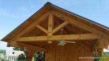 10' x 12' Timberframe Siesta Poolside Bar - 3ft overhang