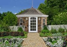 12' Homestead Garden Belle (Stone Veneer)