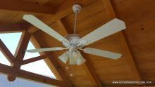 10' x 12' Timberframe Siesta with ceiling fan
