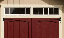 Transom Windows (above doors)