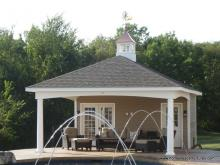 18' x 26' Avalon Poolhouse (vinyl siding)