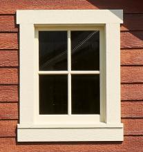 4 Lite Wood Window