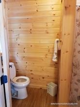 12x20 Custom Pool House with 12x29 Pavilion - interior bathroom