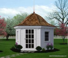 10' Homestead Garden Belle (German Pine Siding)