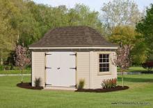 10'x 16' Homestead Garden Belle (D-temp Siding)