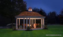 12' x 20' Homestead Belvedere Pavilion