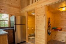 Pine Tongue & Groove Interior