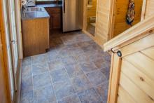 Vinyl Linoleum (tile look) Flooring