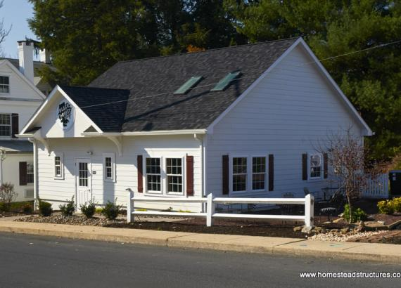 31' x 31' Custom Building (Hardie Plank Siding)