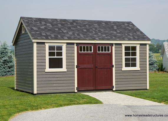10 x 16 Laurel A-Frame (LP Lap Siding)