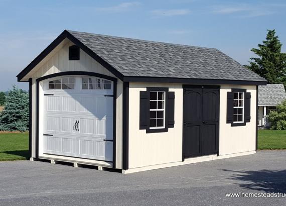 10' x 20' Classic A Frame Garage (Duratemp Siding)