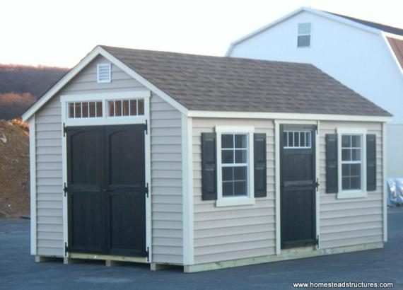 10' x 16' Laurel A Frame Shed (Vinyl Siding)