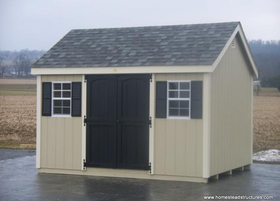 10' x 12' Laurel A Frame Shed (D-Temp Siding)