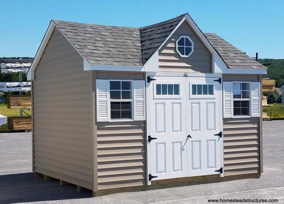 10' x 12' Keystone Chalet shed