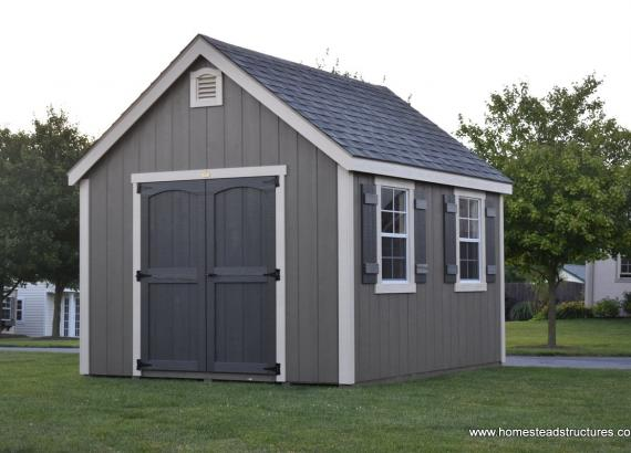 10' x 12' Laurel A Frame Shed with 9/12 roof pitch
