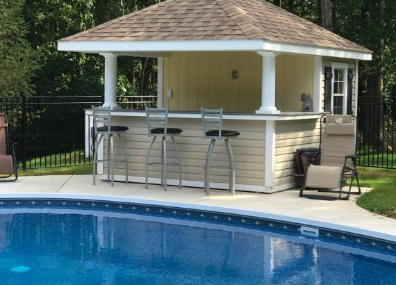 10' x 12' Siesta Pool Bar