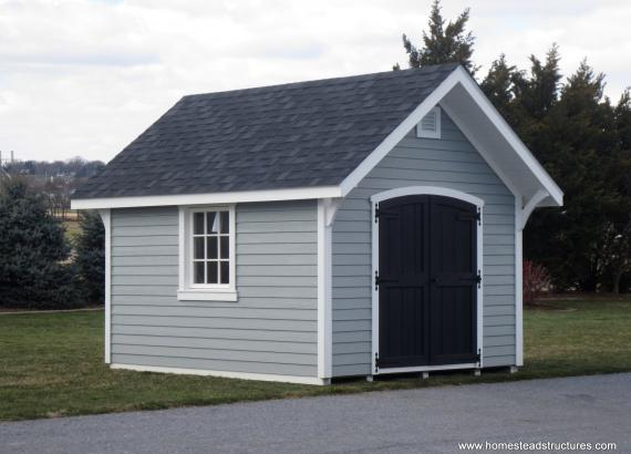 10' x 12' Premier Garden Shed with architectural shingles