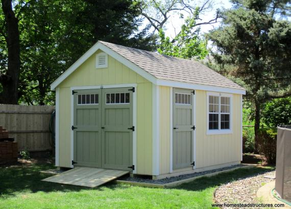 10' x 14' Laure A-Frame Shed