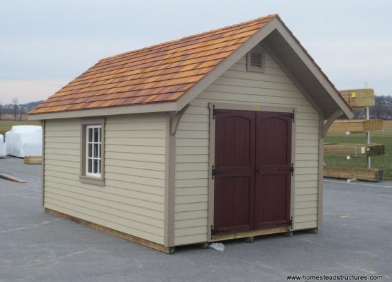 10 x 16 Premier Garden Shed - A Frame roof