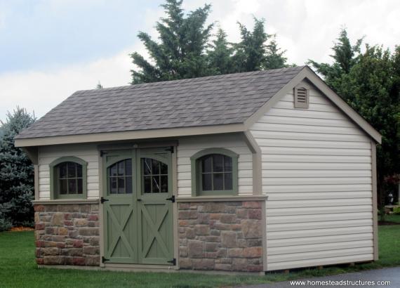 10' x 16' Laurel Quaker Carriage House in Maine