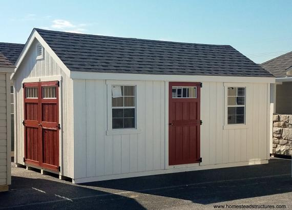 10' x 20' Laurel A Frame Shed with duratemp siding
