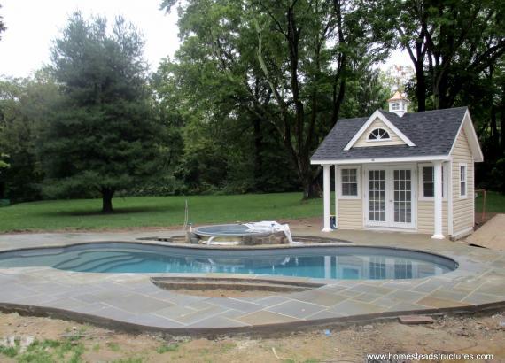11' x 12' Heritage Century Pool House in Basking Ridge, NJ