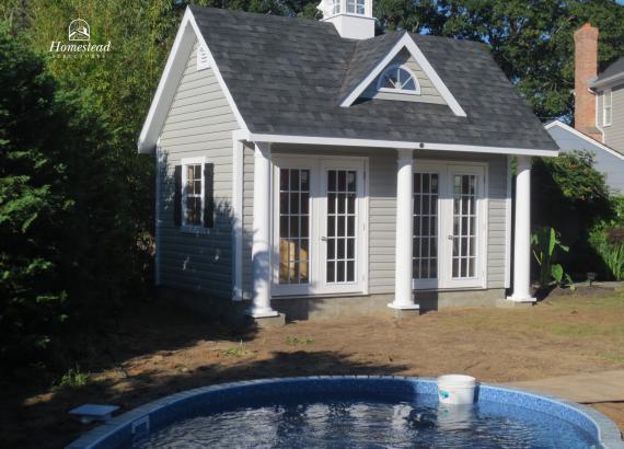 11' x 16' Heritage Liberty Pool House