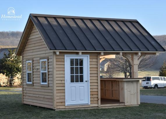 12' x 12' Timber Frame Siesta with A Frame Roof in NJ