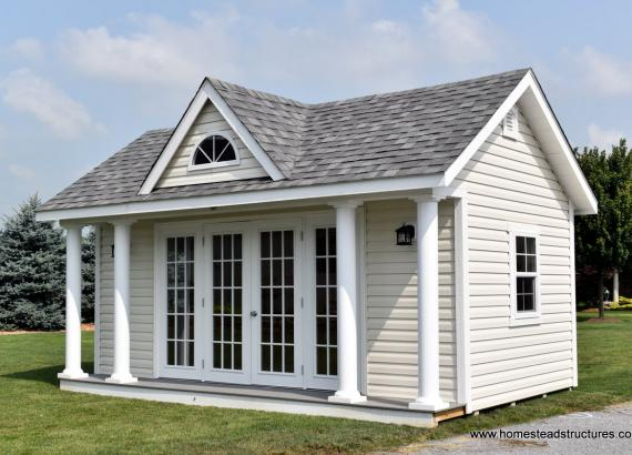 12' x 18' Heritage Century Pool House for Sale