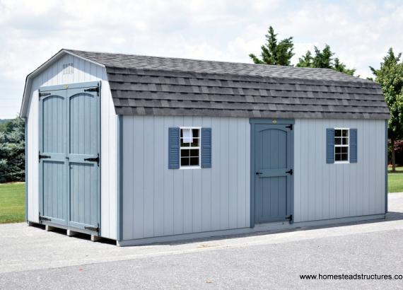 12' x 22' Keystone Dutch Barn in VA