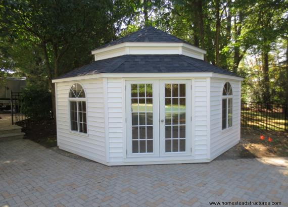 14' Pentacle Garden Shed in Denville, NJ